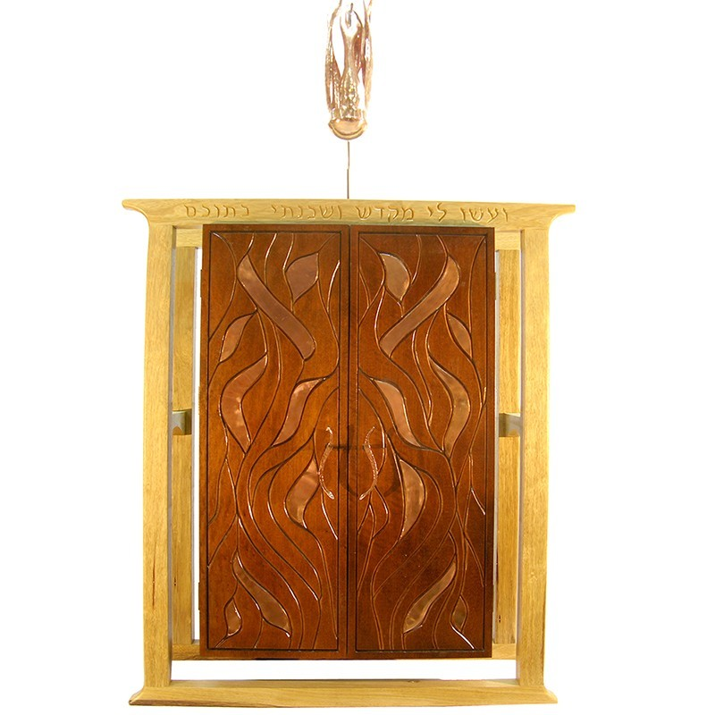 Bet Aleph Meditational Synagogue Torah Ark with light