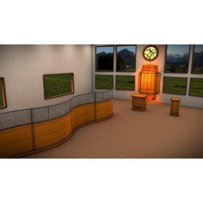 Synagogue-design-chabad-Silver-Spring-room