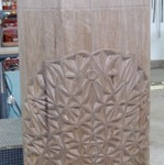 Carved Torah Case Progress