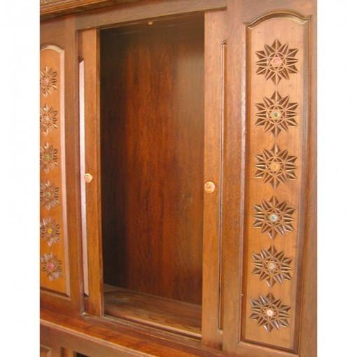 columns and twelve tribes aron kodesh sliding doors