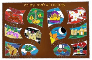 Design Twelve Tribes of Israel
