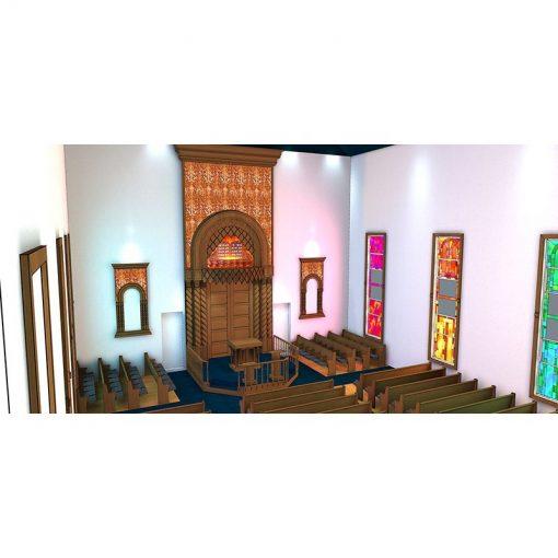 Or Olam synagogue remodel design