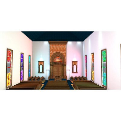 Synagogue remodel design New York