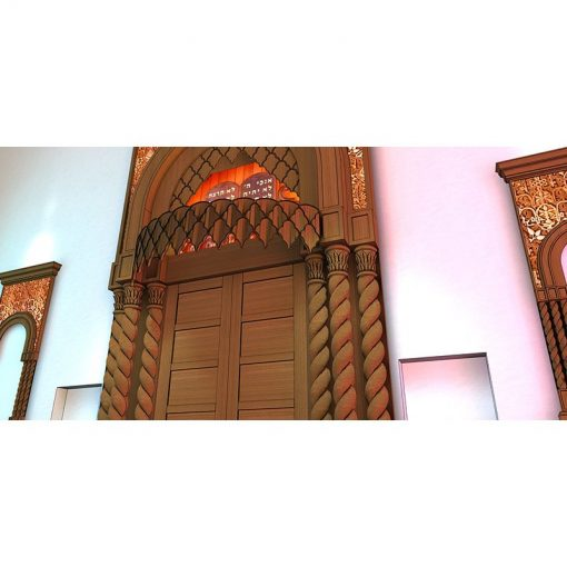 Aron kodesh design for conservative synagogue in New York