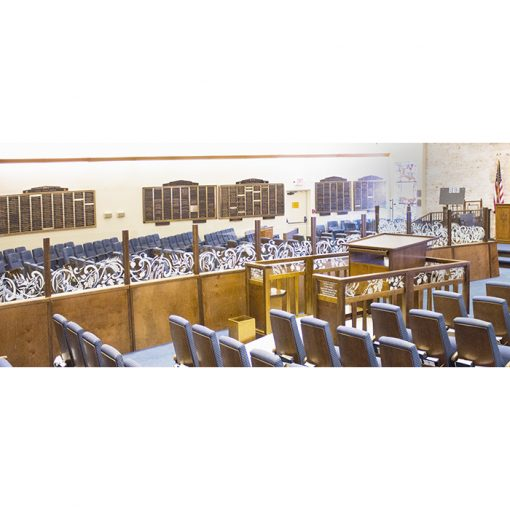 del ray beach synagogue mechitza