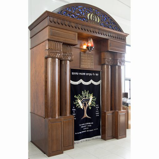 Breslav-Synagogue-Bet-Shemesh-wood-carving-glass