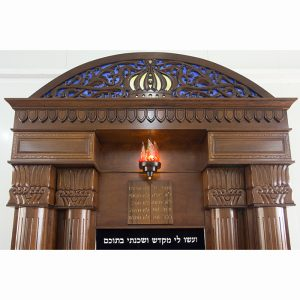 Breslav-Synagogue-Bet-Shemesh-wood-carving-glass-hand-carved