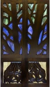 CTJ Manhattan Beach glass and wood doors
