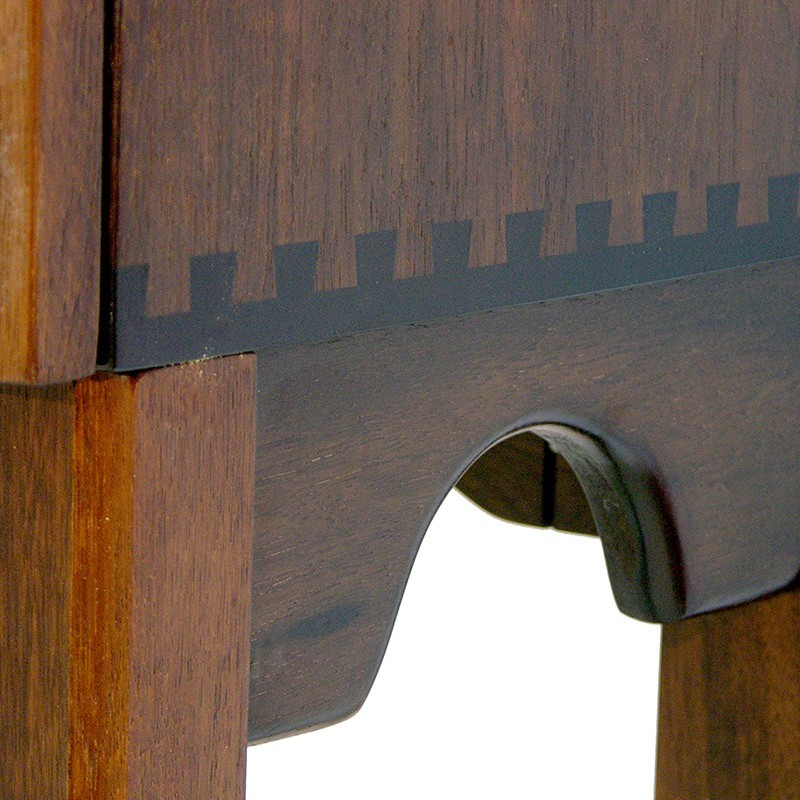 portable torah ark wood carved with twelve tribes