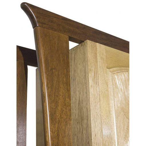 aron kodesh hanging mishkan carved wood detail joinery