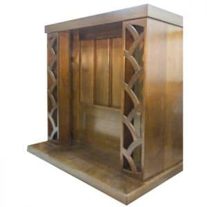 Wood aron kodesh to fit 10 torahs
