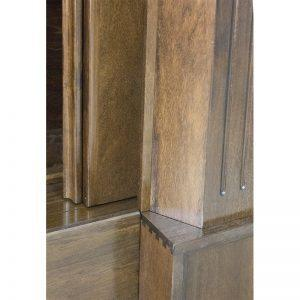 Aron Kodesh for Columbia, South Carolina Chabad dovetail joinery