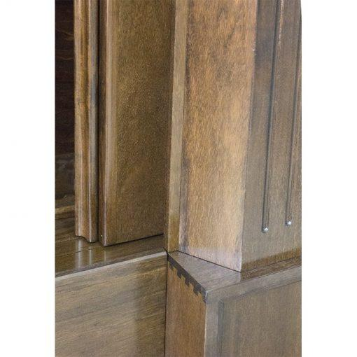 Aron Kodesh for Columbia, South Carolina Chabad dovetail joinery