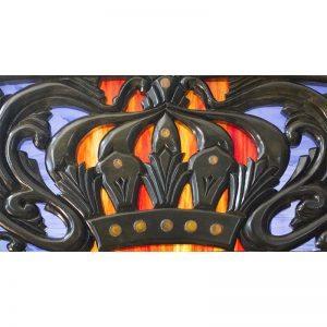 Details of the ner tamid forAron Kodesh for Columbia, South Carolina Chabad