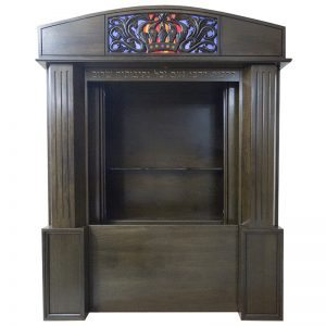 Aron Kodesh for Columbia, South Carolina Chabad with open sliding doors