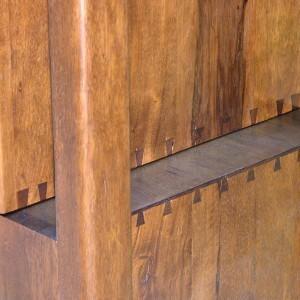 Hanging Mishkan Aron Kodesh dovetail joinery