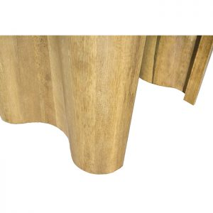 contemporary curved laminated shapes torah table