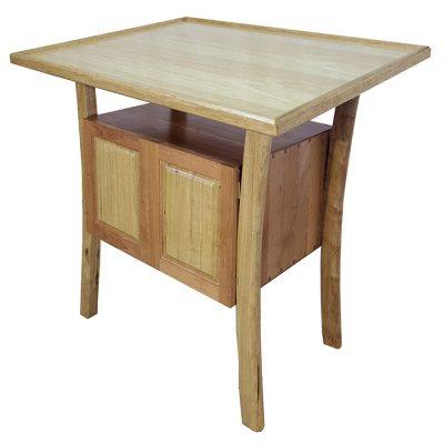 Synagogue Furniture Set Bimah Torah Table built from Cherry and Walnut Wood