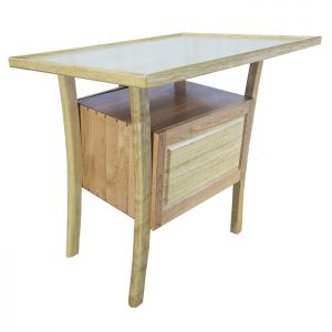 Contemporary Bimah Torah Table built from Wood