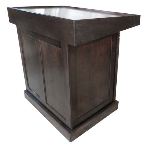 Boat Shul solid wood bimah for torah reading