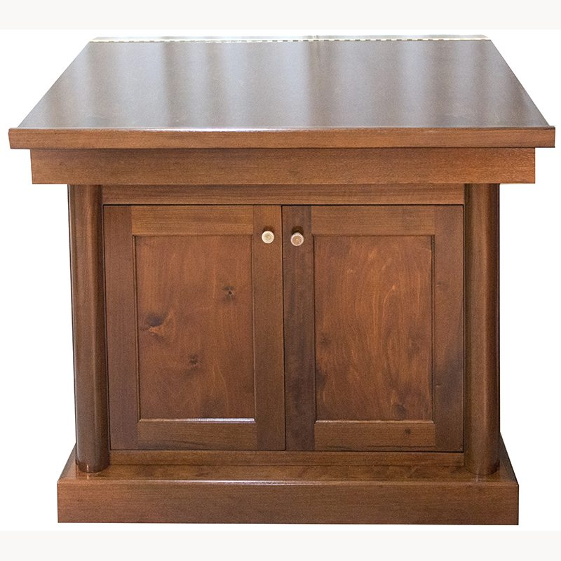 Classical Wood Bimah Bass Synagogue Furniture