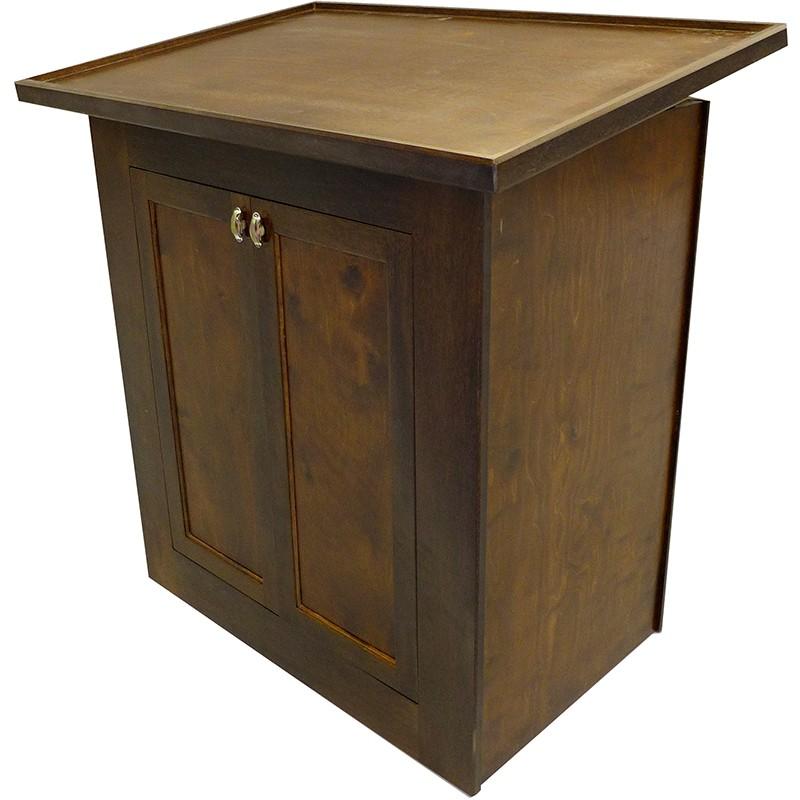 Perfect Portable Torah Table With Tilting Top