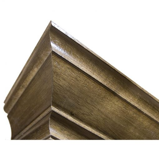 Crown molding for library bookshelves in Israel synagogue