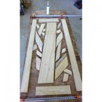 Frame work for tree glue up