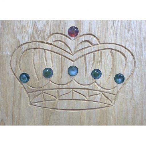elijah's chair for brit milah in contemporary design carved crown with glass inlays