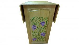Folding carved Torah Table