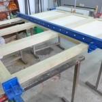 mechitza Panels glue up