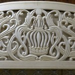 Long Island city carving crown