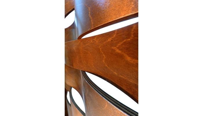 Bent Wood mechitza waves