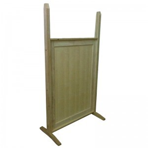 Standard wood portable mechitza panels