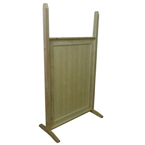 Standard wood portable mechitza panels