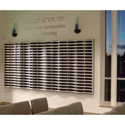 Synagogue Memorial Board interior design