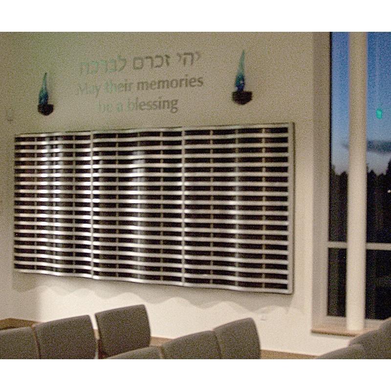 Synagogue Memorial Board interior design