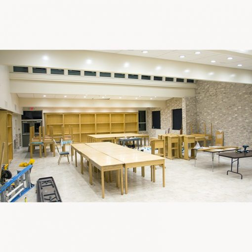 Margolin Hebrew Academy Memphis chapel remodel for jewish school