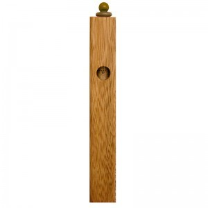 wood and glass mizuzah and shin window
