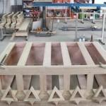 Aron Kodesh Base Progress New Orleanes