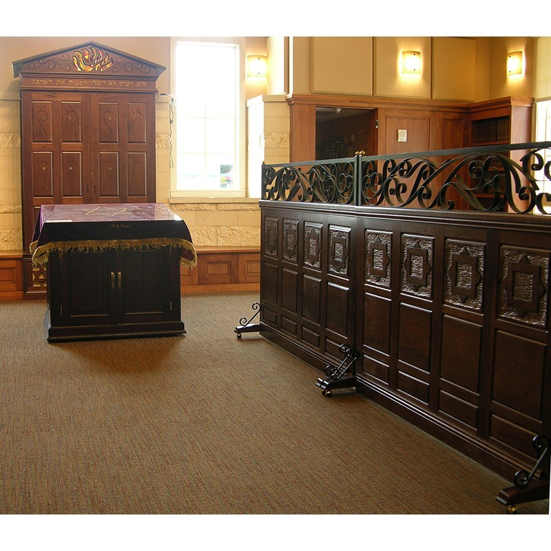 Bet Israel New Orleans Synagogue Interior Bass Synagogue Furniture