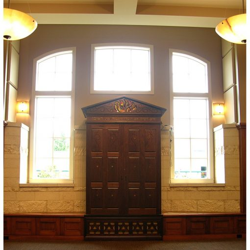 Bet Israel Synagogue in New Orleans interior design