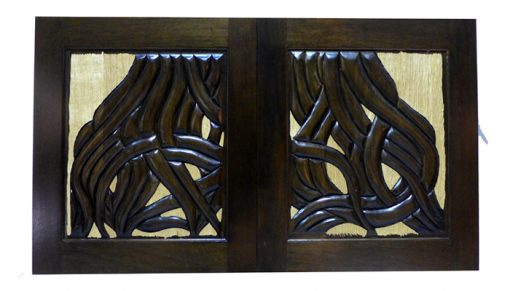 Carved Roots Synagogue Doors