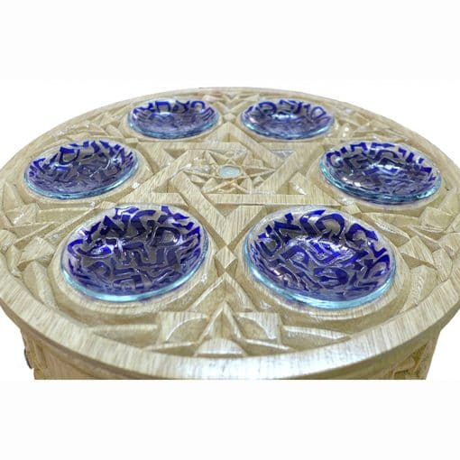 glass trays for seder plate