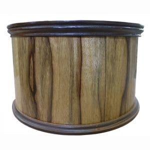 african walnut seder plate