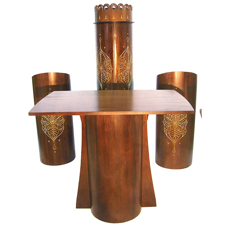 Sepharic Synagogue Furniture set from solid wood