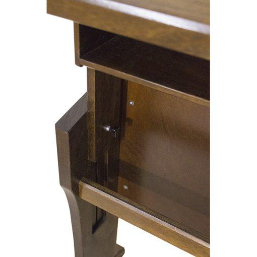 Adjustable Height Shtender adjustment mechanism