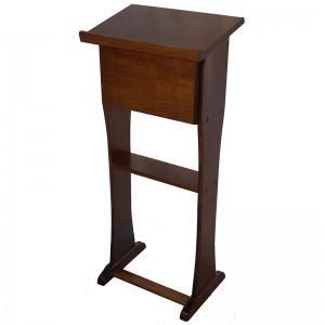 hardwood shtender is light and portable
