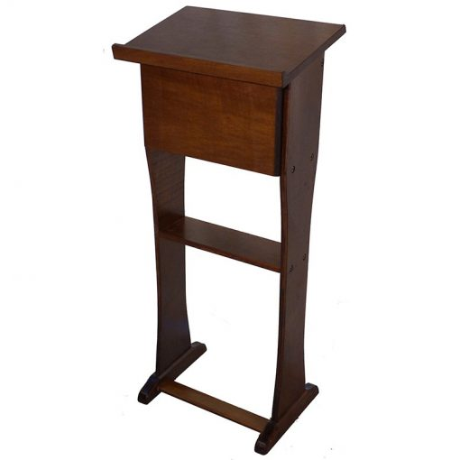 hardwood shtender is light and portable