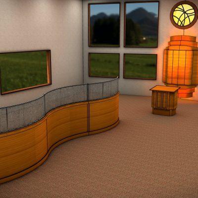 עיצוב בית כנסת